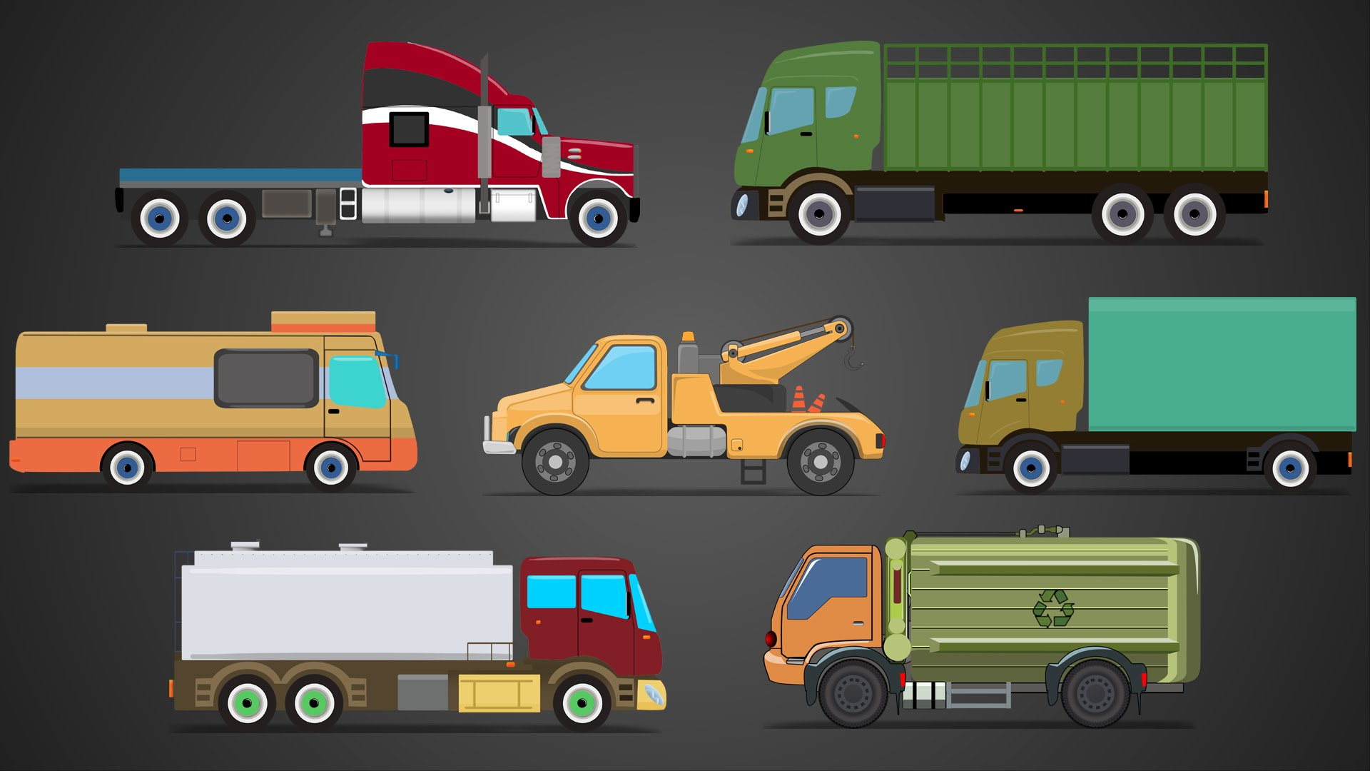 5 Types Of Commercial Trucks In The Industries