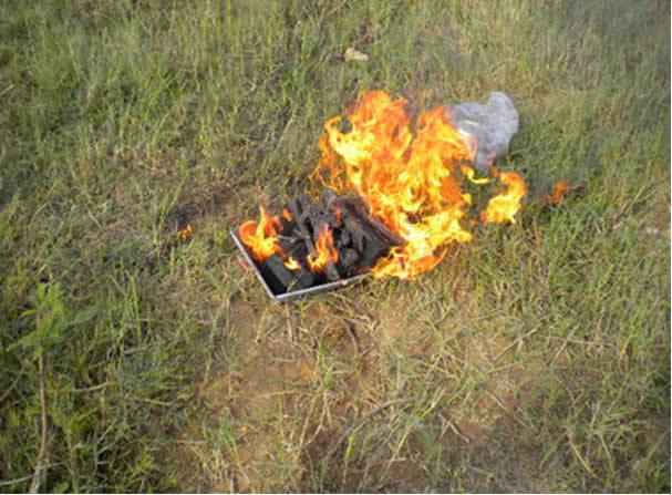 hỏa thiêu người đã chết