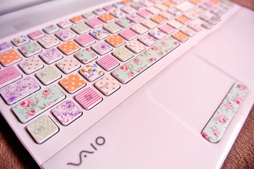 Washi tape magia para las manualidades de los ni os - Foto teclado ordenador ...