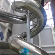 Arena fun Xperiences en Futuroscope con 8 actividades divertidas como estos toboganes.