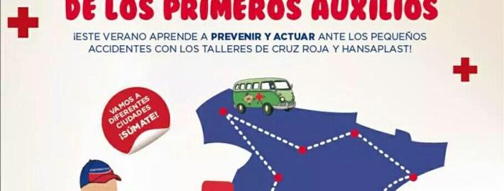 EL TOUR DE PRIMEROS AUXILIOS DE CRUZ ROJA Y HANSAPLAST LLEGA A MADRID  Foto de %title