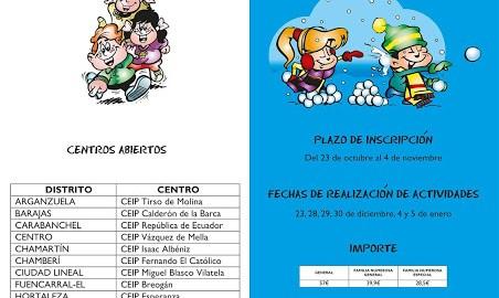CENTROS PÚBLICOS EN INGLÉS ABIERTOS EN MADRID PARA LA NAVIDAD  Foto de %title