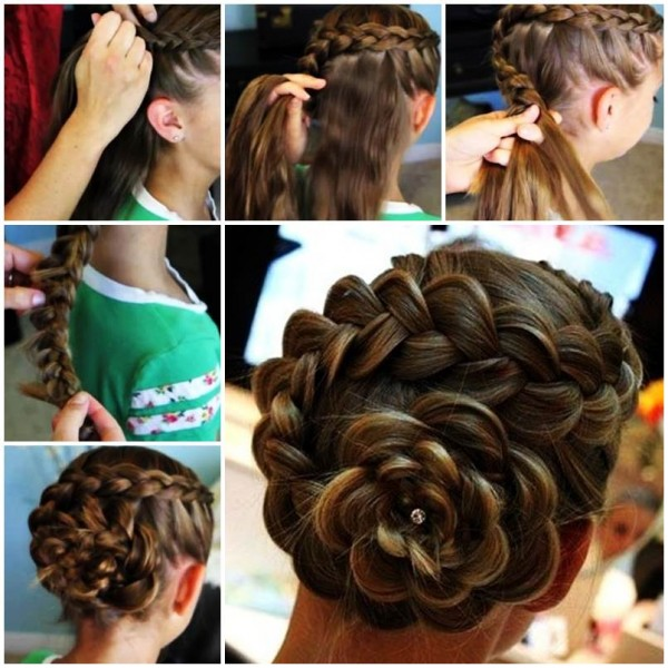 Como Hacer Cinco Peinados De Fiesta Para Ninas Trucos De Mamas