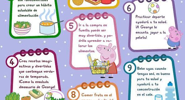 PEPPA PIG PROPONE 10 CONSEJOS PARA UNA VIDA SALUDABLE  Foto de %title