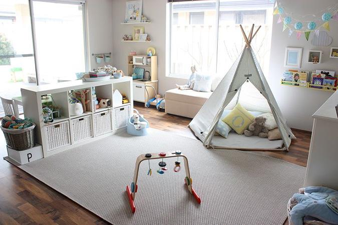 Montessori crea la habitaci n de tus hijos por menos de for Cuartos para ninas montessori