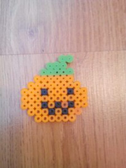 DIY FIGURAS HALLOWEEN HAMA BEADS