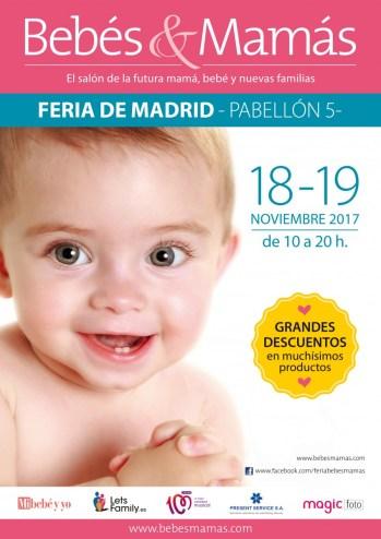 SORTEO: 3 ENTRADAS DOBLES PARA EL SALÓN BEBÉS Y MAMÁS.18-19 NOVIEMBRE EN MADRID  Foto de %title