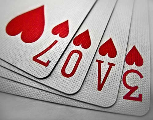 San Valentin Baraja Para De Manualidades De Cartas Con Dia