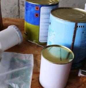 Conservar botes de pintura
