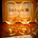 Le coffret de dégustation spécial Trucs De Mec de Trois Fois Vin