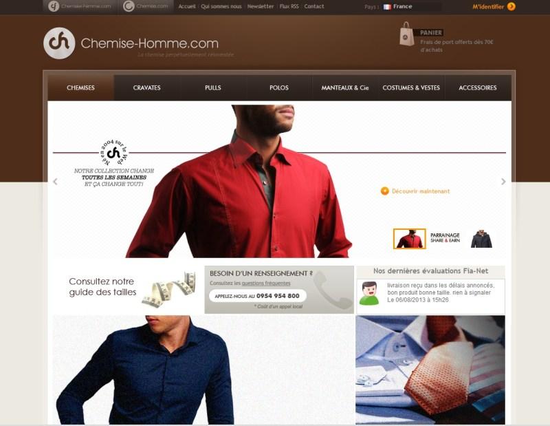 Chemise-homme.com