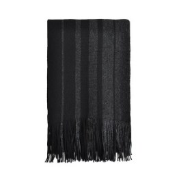 echarpe chinee noire