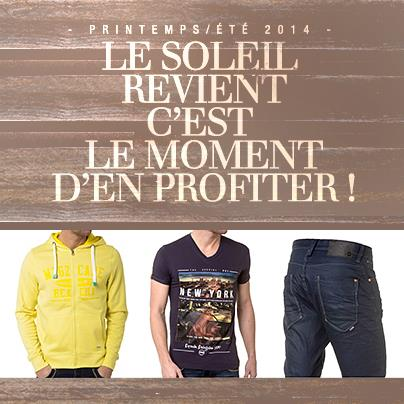 collection printemps-été 2014 BLZ Jeans