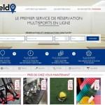 Fieldin, premier site de réservation multisport en ligne