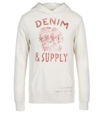 Sweat Denim & Supply Ralph Lauren - soldes hiver 2ème démarque aux Galeries Lafayette - trucsdemec.fr, blog lifestyle masculin, mode homme, beauté homme