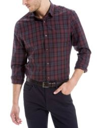 chemise à carreaux urbains - soldes hiver 2015 Brice - trucsdemec.fr, blog lifestyle masculin, mode homme, beauté homme