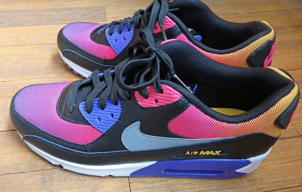 timeless design ec3a1 c36fd Nike Air Max 90, Test   Avis
