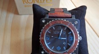 Konifer Wooden Watch