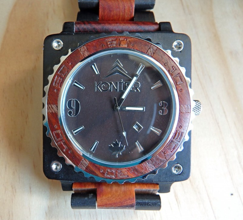 Konifer Wooden Watch