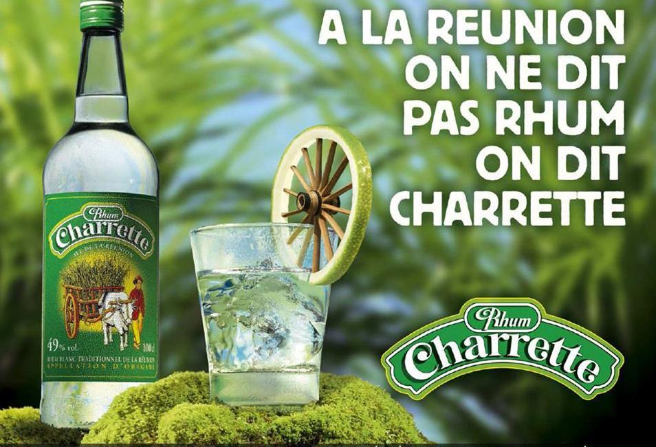 Cocktails rhum Charrette