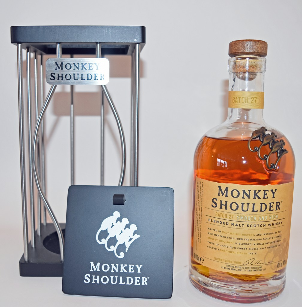 Coffret Monkey Shoulder Out of the Cage