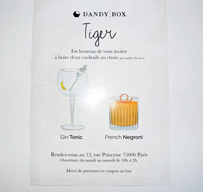 DandyBox Noël 2015