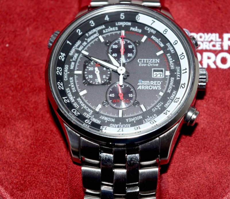Citizen Eco Drive Red Arrows Chronograph