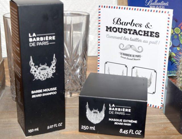 Les Soins à barbe La Barbière de Paris