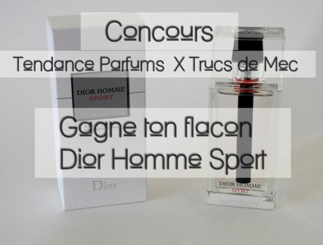 Concours Dior Homme Sport