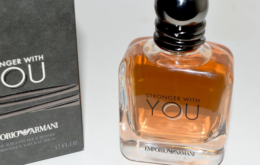 dc147328f74cd Stronger With You Emporio Armani, parfum sensuel - Test   avis