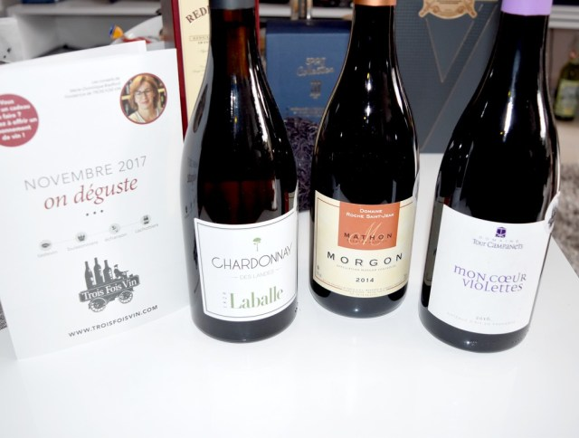Buissonniers Trois Fois Vin novembre 2017