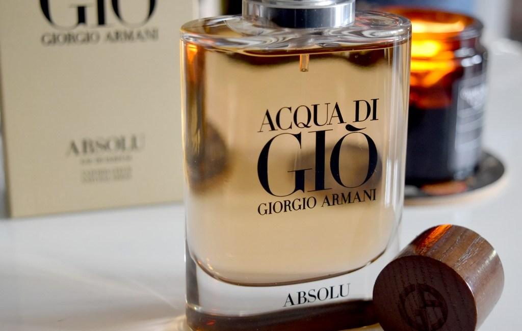 de46e1ddf069f6 Acqua di Gio Absolu de Giorgio Armani, un jus sensuel - Test   avis