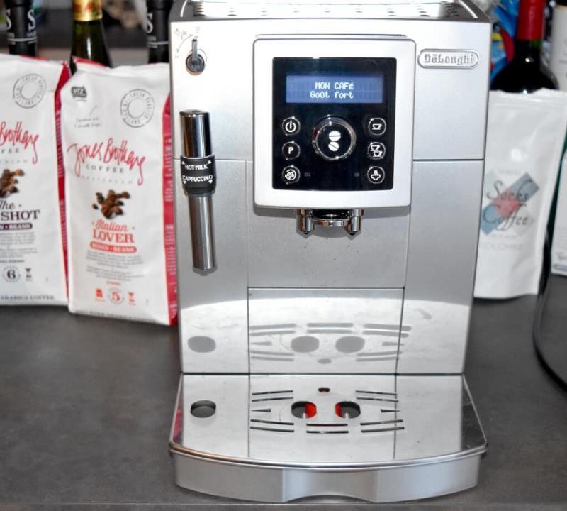 Test de la machine à café Delonghi ECAM 23 420 SB S11