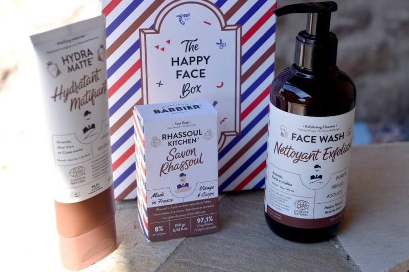 test de The Happy Face Box Monsieur Barbier