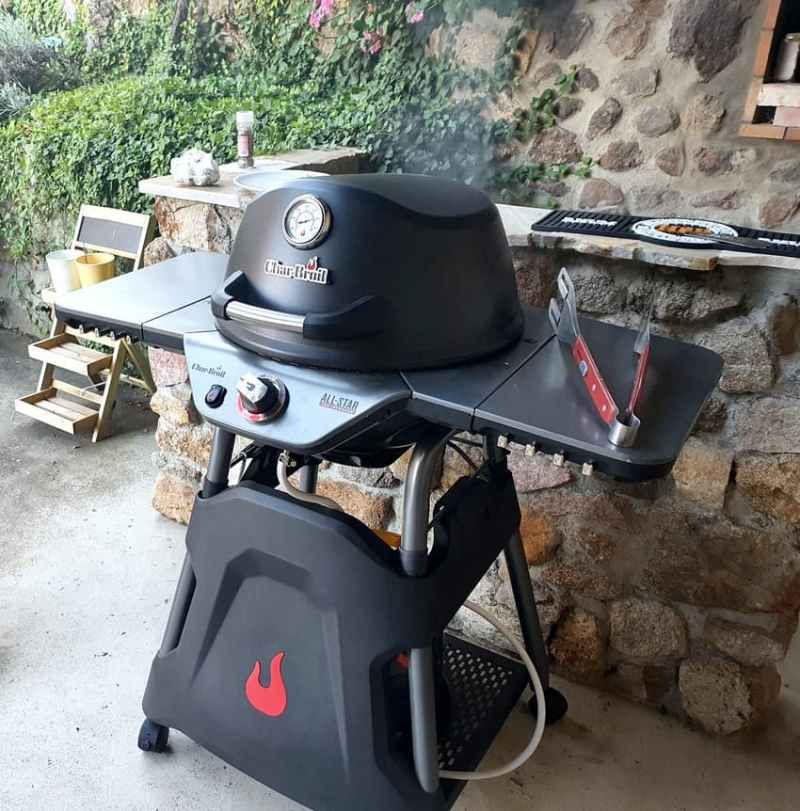 Barbecue polyvalent Char-Broil All Star 120 B Gas