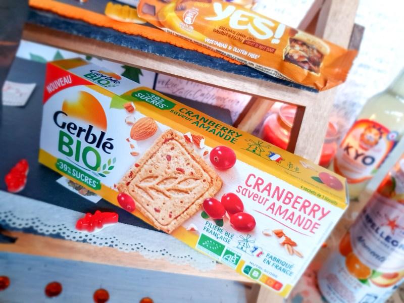 biscuits sablé Gerblé