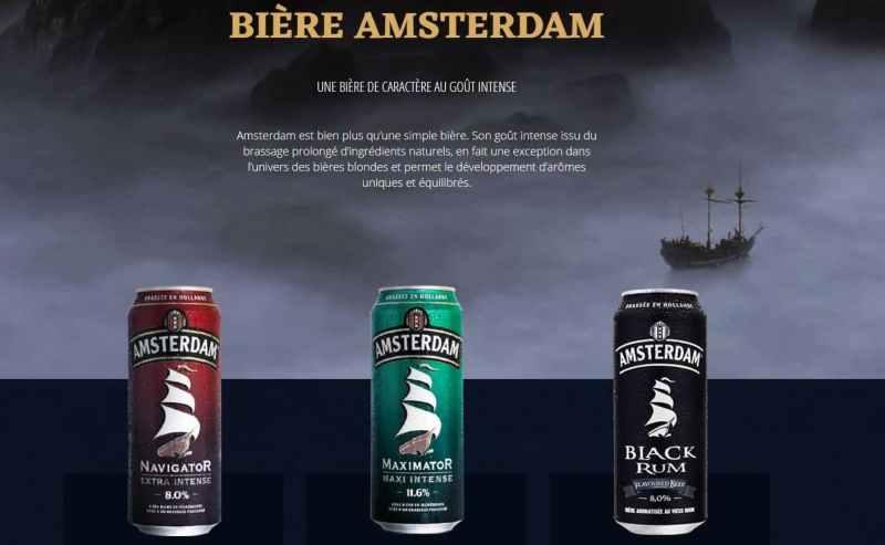 Bière Amsterdam Maximator, une lager au goût intense