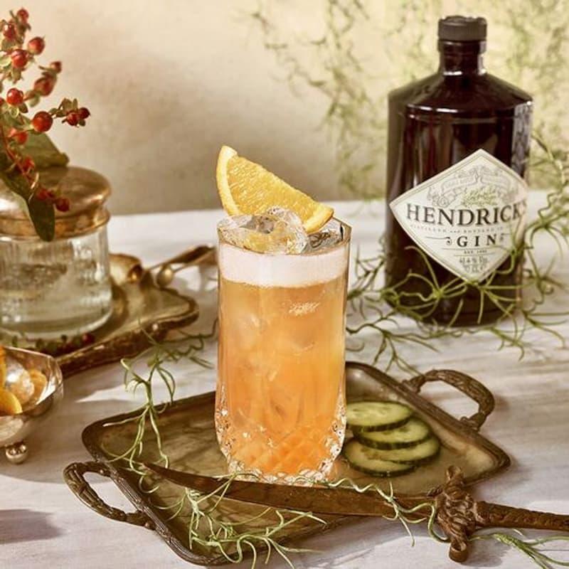 La collection insolite de cocktails d'Hendrick's : Garibaldi Sbagliato
