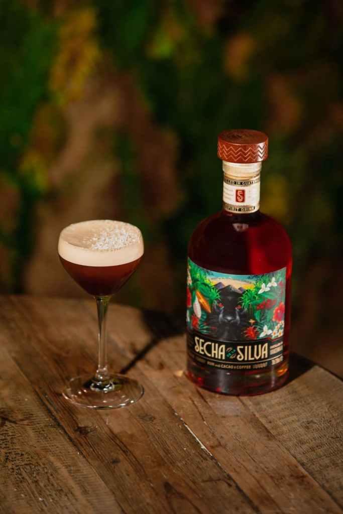 Cocktail Rhum secha de la silva Mocha Martini