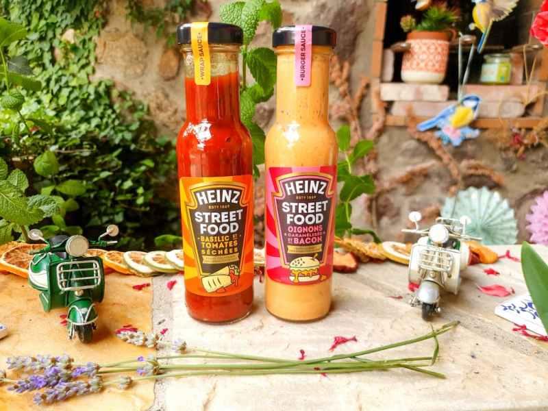 sauces Street Food Heinz