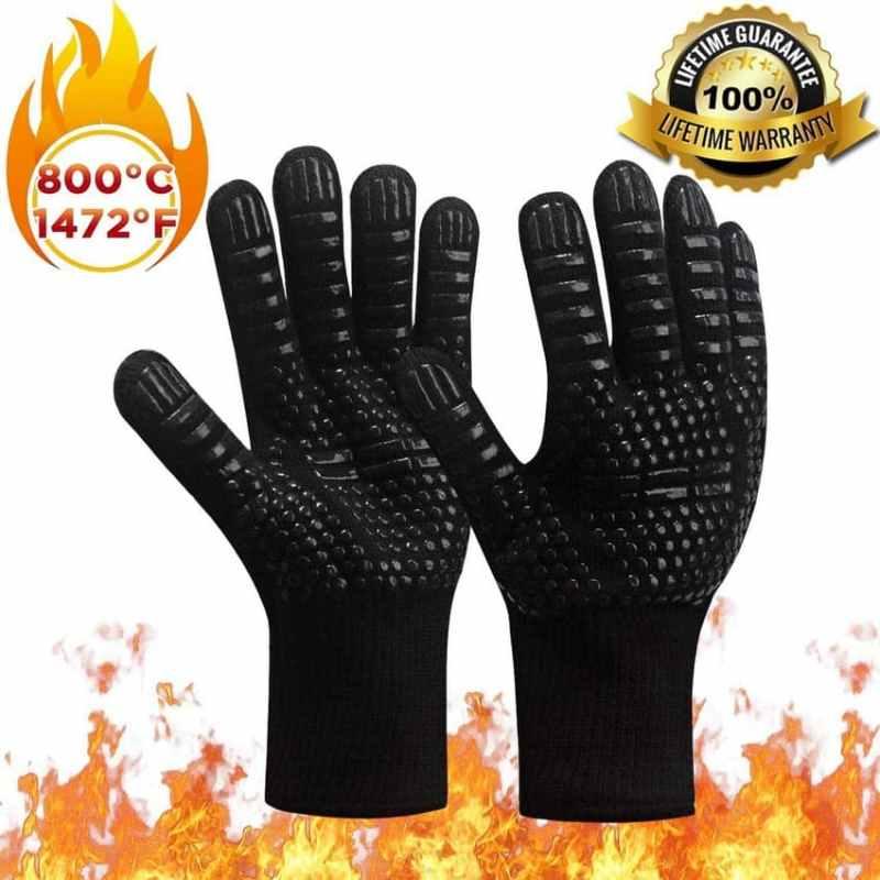 Accessoires pour le barbecue : les gants de protection