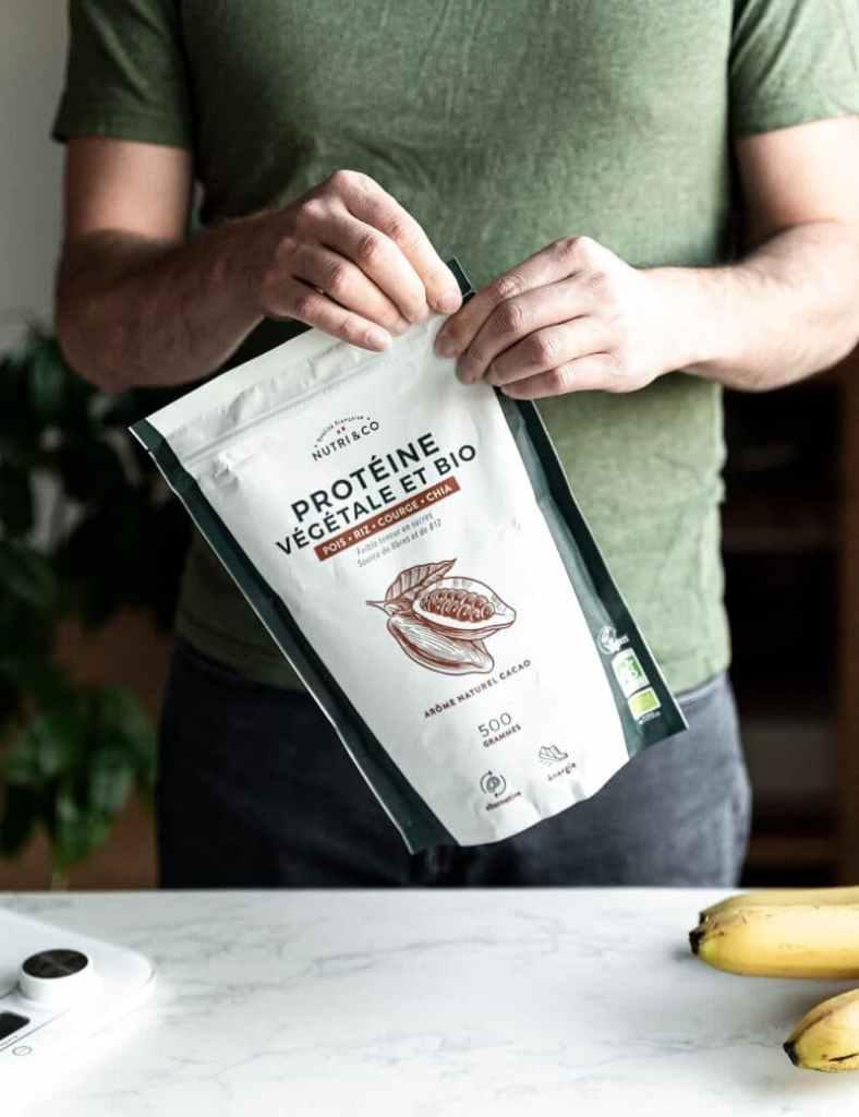 Découvrez la protéine végétale et bio Nutri&co