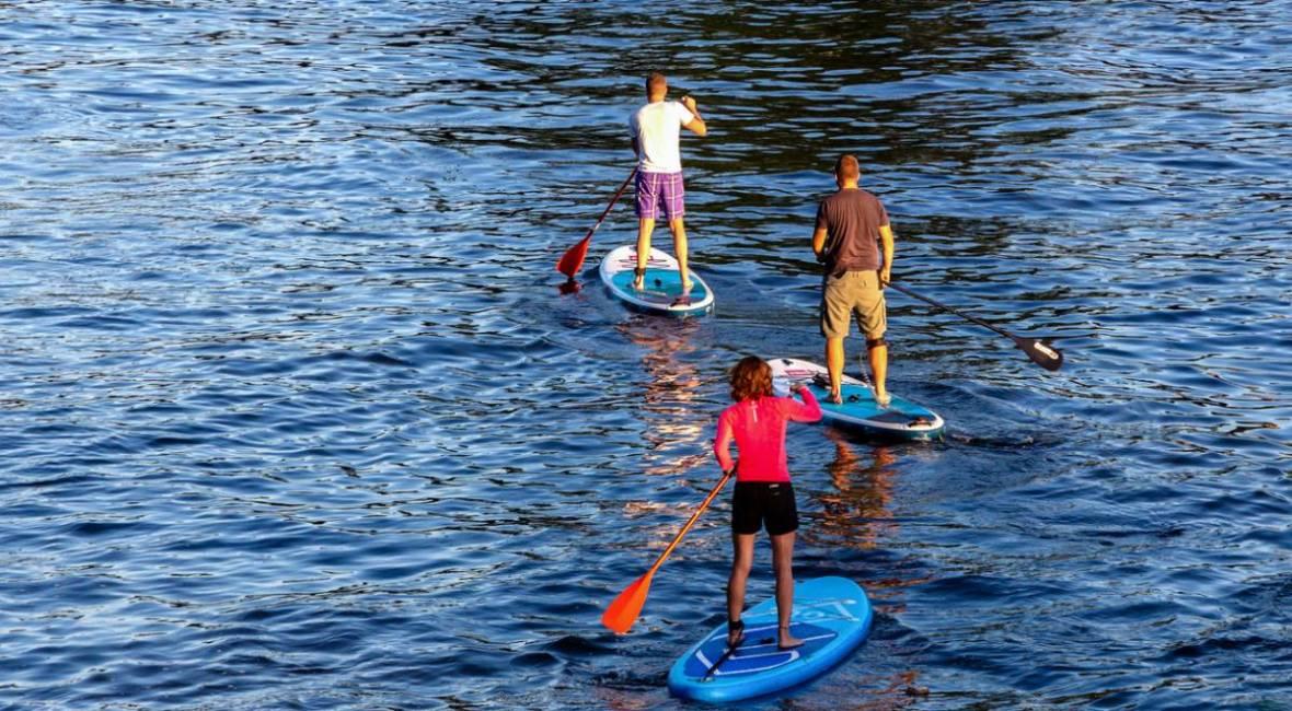 Découverte le stand up paddle