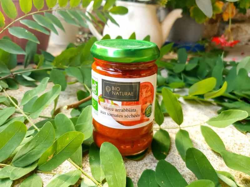 sauce arrabiata aux tomates séchées Bionaturae