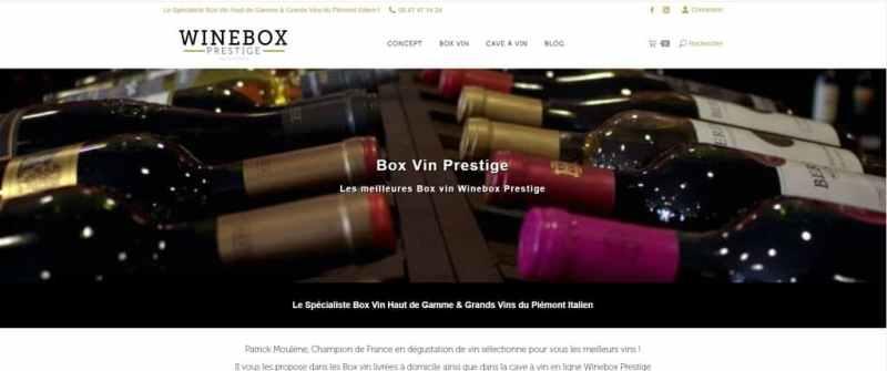 winebox prestige