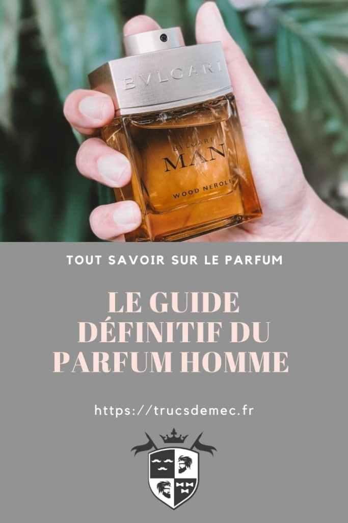 Tout savoir sur le parfum pour homme
