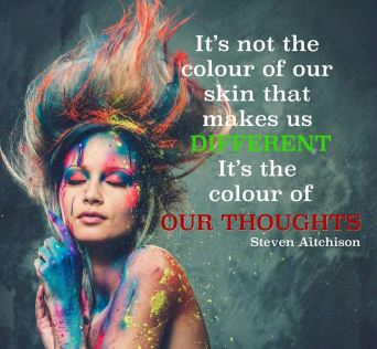 Colour of thoughts