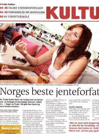 Presse Norges beste jenteforfatter