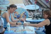 Mosaikkmakere lager bord til King Bar.