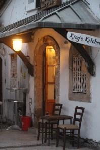 Kjøkkenet til King Bar og det som måtte komme.
